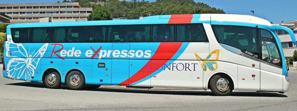 Come raggiungere Peniche da Lisbona - Bus Rede Expressos