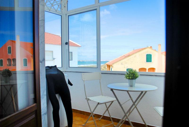Supertubos Apartment - Terrazza