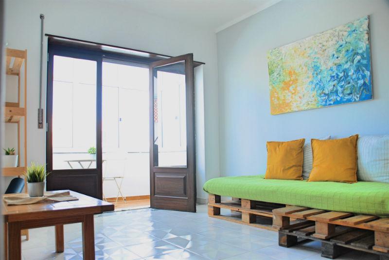 Supertubos Apartment - Salotto