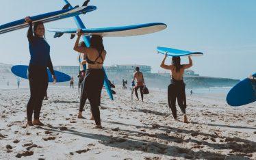 Surf House in Portogallo