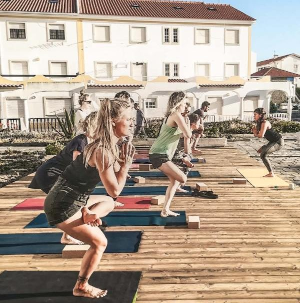 Yoga Classes at Boa Onda Guesthouse in Peniche